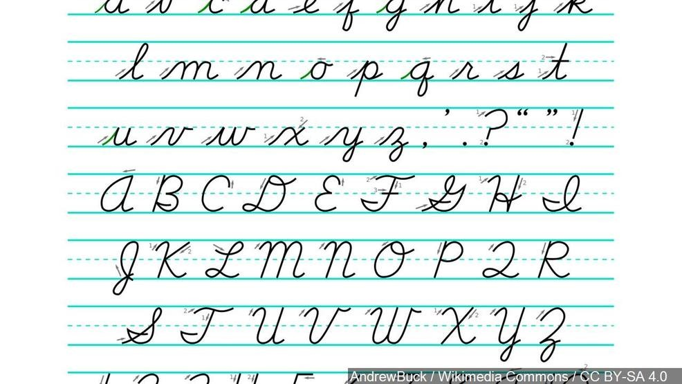 Cursive comeback: Ohio to develop curriculum to teach students how ...