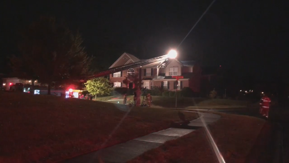Crews called to area house fires after reported lightning
