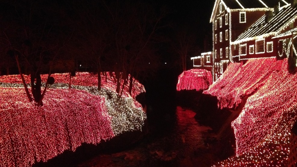 Clifton Mill Christmas Lights.Legendary Lights Of Clifton Mill Featured On The Great