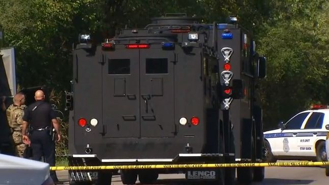 Update Suspect In Custody After Firing Shots During Standoff In