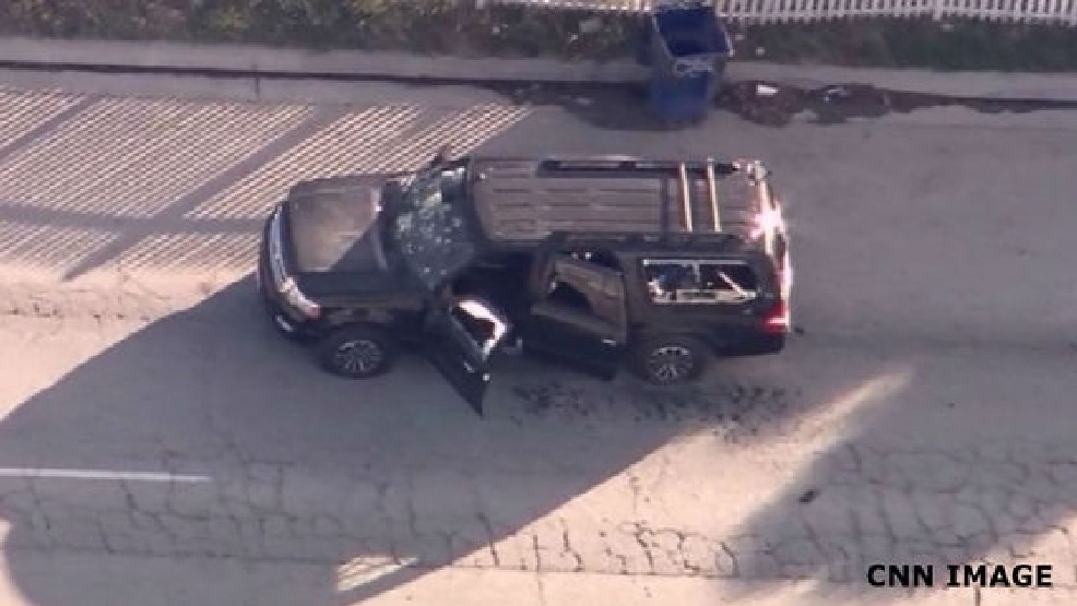Police in Pursuit of Alleged San Bernardino Shooting Suspects